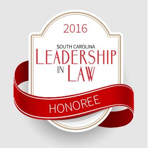 2016 SC Leadership Law Honoree
